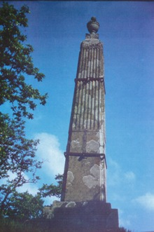 The Duke of Bedford Monument (1802) before restoration. Ref. FOH.A/08/05.5